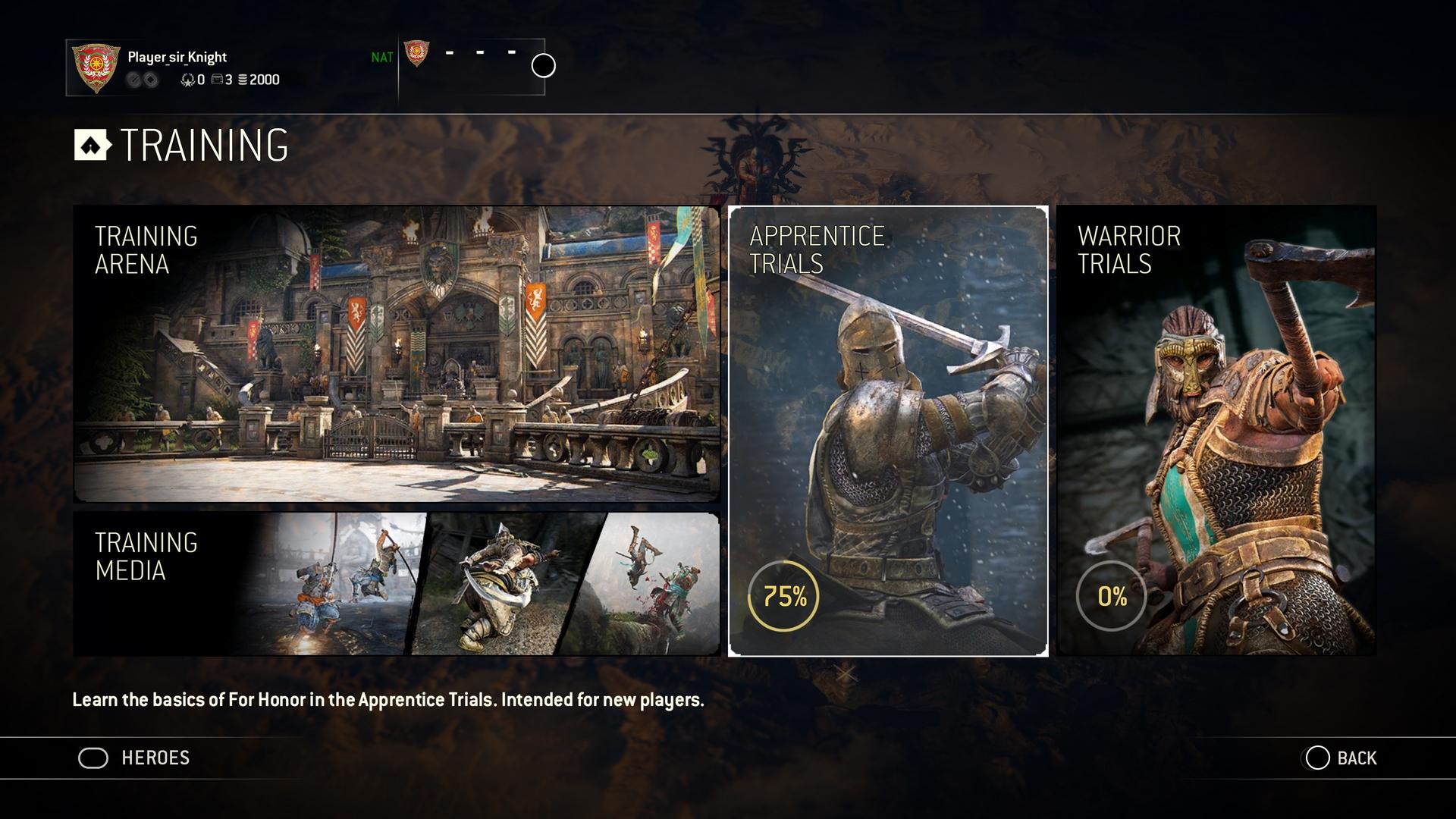 For Honor : de nouveaux modes d'entraînement