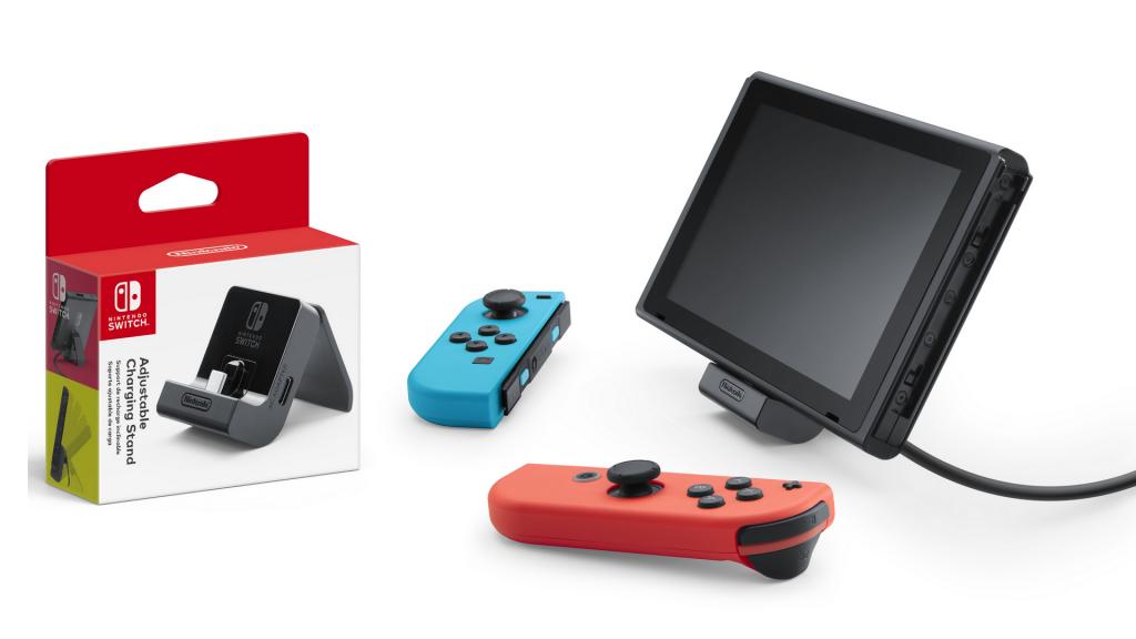 Un socle de recharge officiel en approche — Nintendo Switch