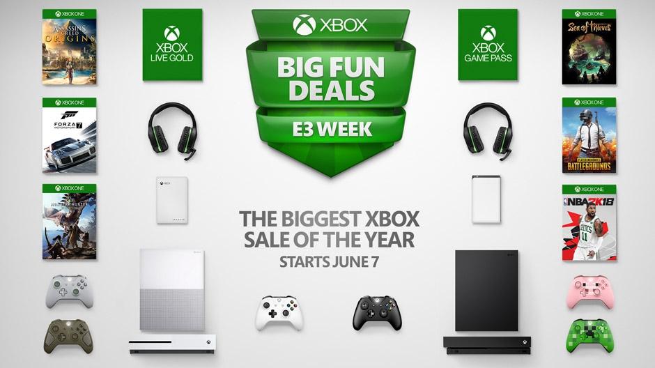 Xbox One : Microsoft lance des réductions sur ses consoles pour l'E3