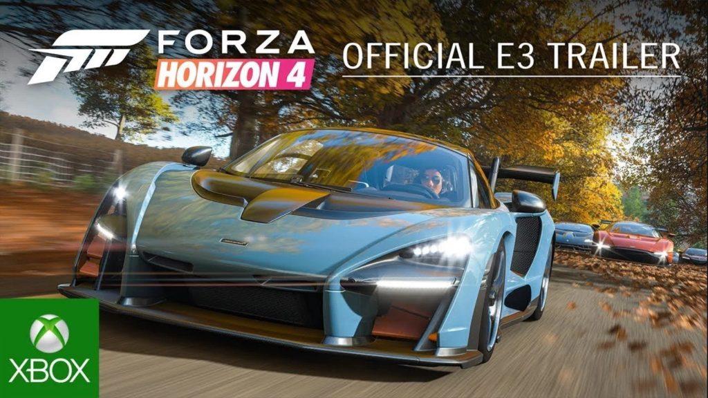 E3 2018 : Forza Horizon 4 dérape en Grande-Bretagne en vidéo