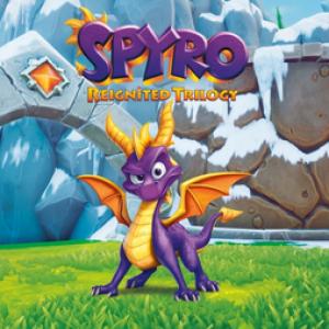 Jaquette Spyro Reignited Trilogy