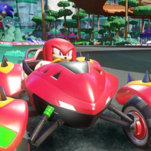 Jaquette Team Sonic Racing
