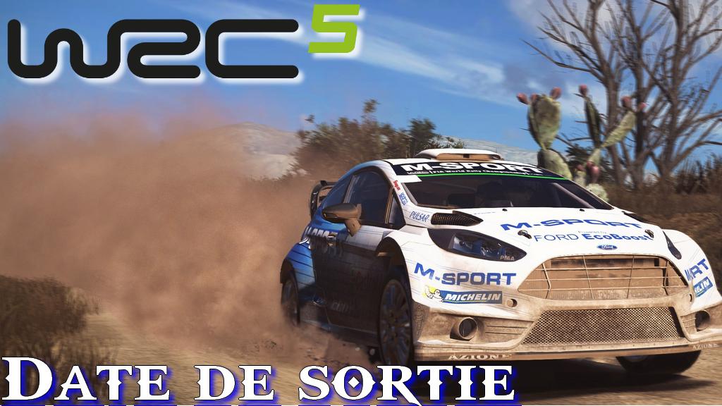 WRC 5 : Une date de sortie