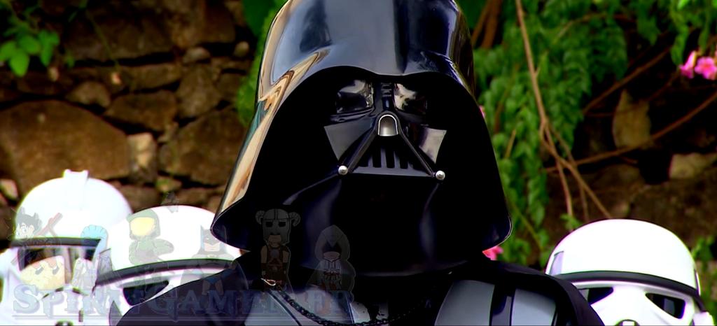 Camera cachée ou les Stormtrooper et Dark Vador effrayent les passants