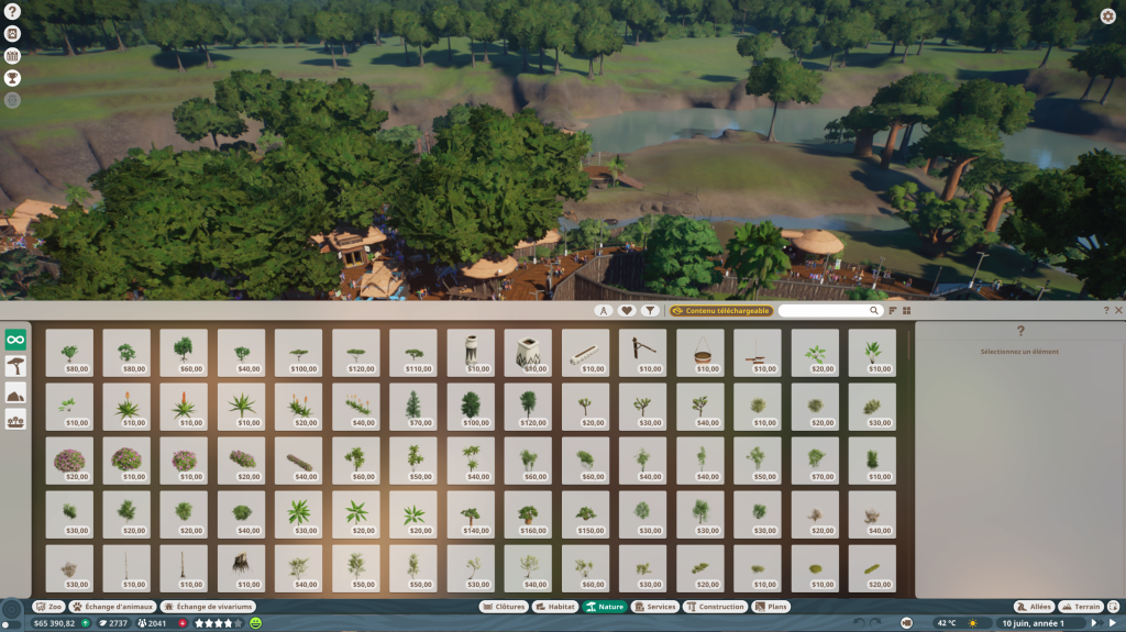 4.Planet Zoo nature