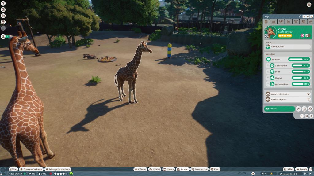 Planet Zoo animaux (1)