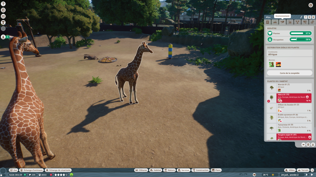 Planet Zoo animaux (3)
