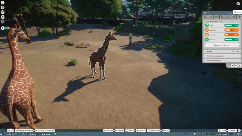 Planet Zoo animaux (7)