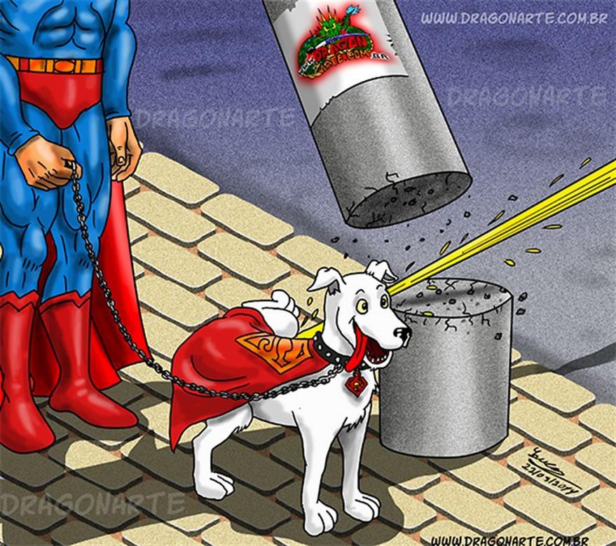 [Insolite] Mais que font les Super-Héros quand ils ne sauvent pas le monde (1)