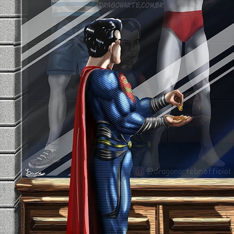 [Insolite] Mais que font les Super-Héros quand ils ne sauvent pas le monde (105)