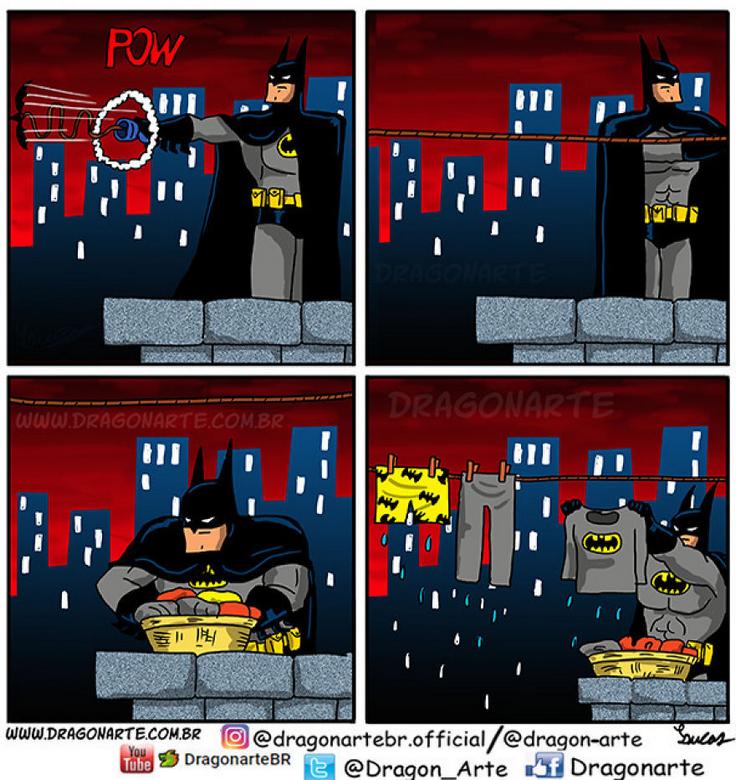 [Insolite] Mais que font les Super-Héros quand ils ne sauvent pas le monde (19)