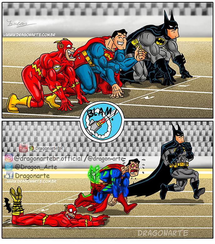 [Insolite] Mais que font les Super-Héros quand ils ne sauvent pas le monde (24)