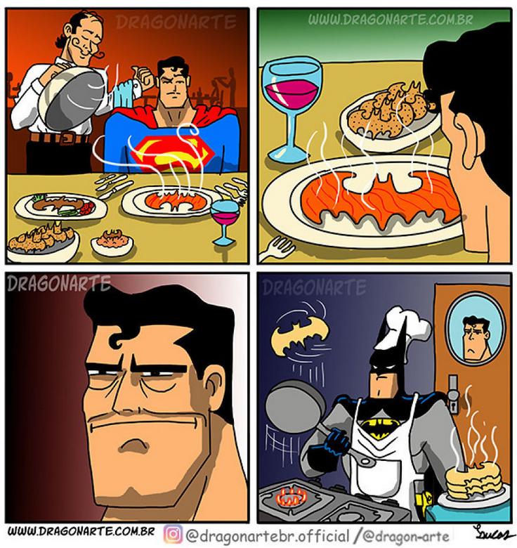 [Insolite] Mais que font les Super-Héros quand ils ne sauvent pas le monde (36)