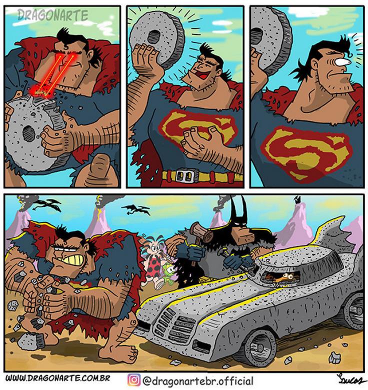 [Insolite] Mais que font les Super-Héros quand ils ne sauvent pas le monde (38)