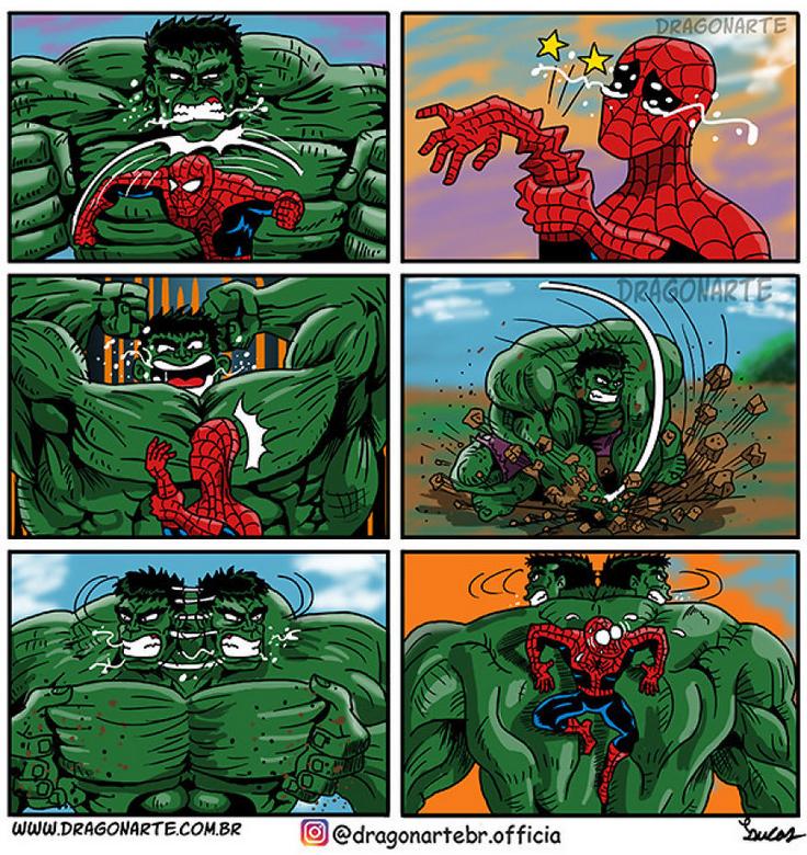 [Insolite] Mais que font les Super-Héros quand ils ne sauvent pas le monde (42)