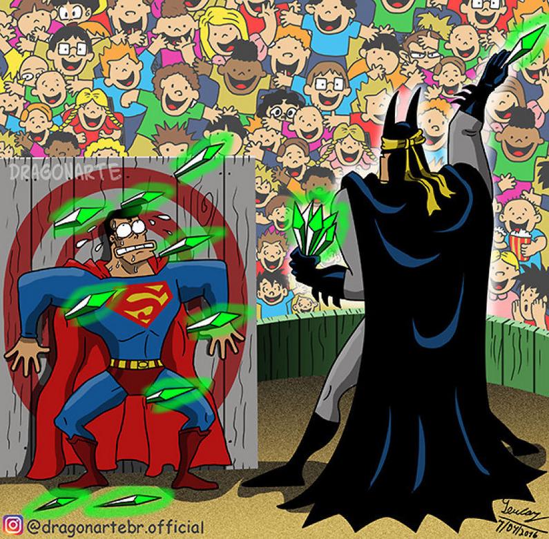 [Insolite] Mais que font les Super-Héros quand ils ne sauvent pas le monde (44)