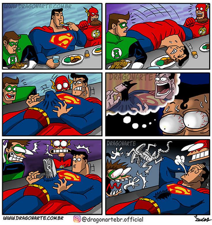 [Insolite] Mais que font les Super-Héros quand ils ne sauvent pas le monde (47)