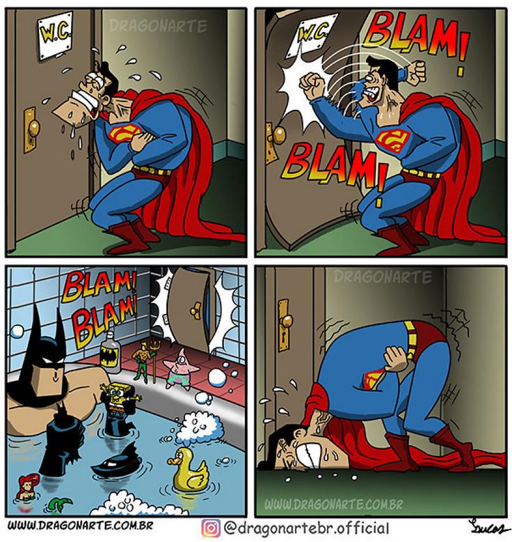 [Insolite] Mais que font les Super-Héros quand ils ne sauvent pas le monde (49)