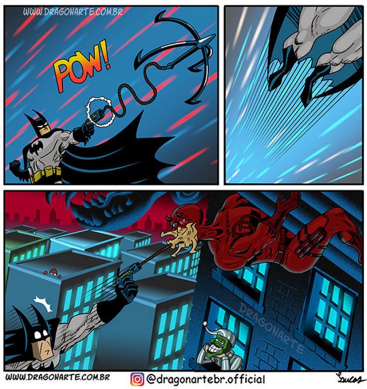 [Insolite] Mais que font les Super-Héros quand ils ne sauvent pas le monde (50)