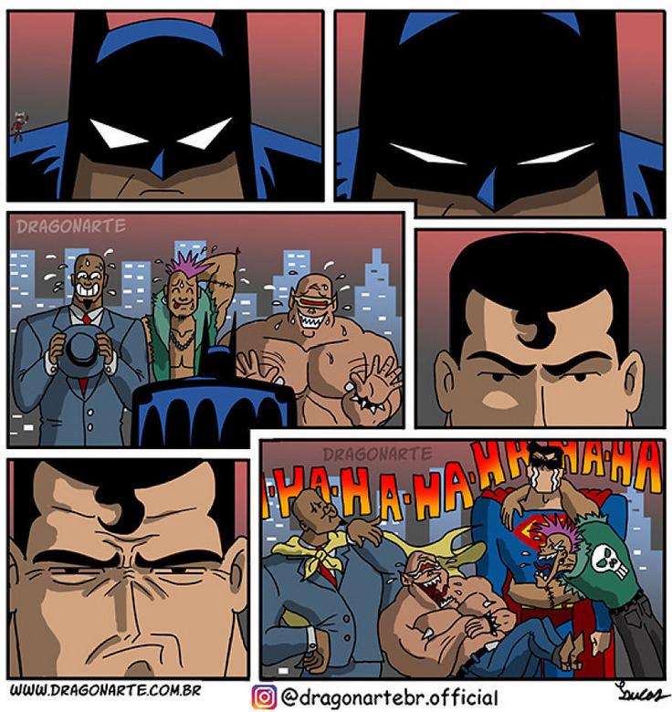 [Insolite] Mais que font les Super-Héros quand ils ne sauvent pas le monde (51)