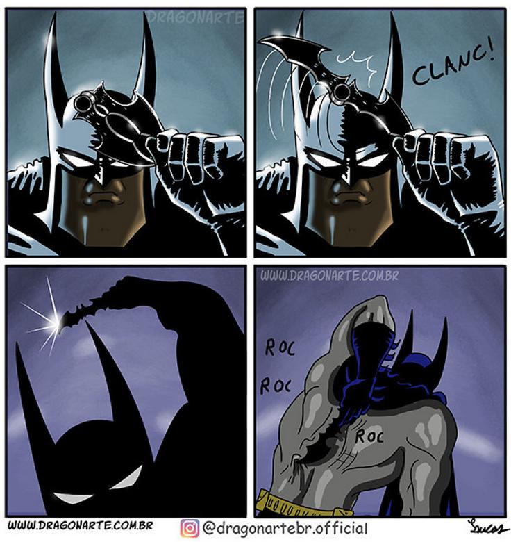 [Insolite] Mais que font les Super-Héros quand ils ne sauvent pas le monde (53)
