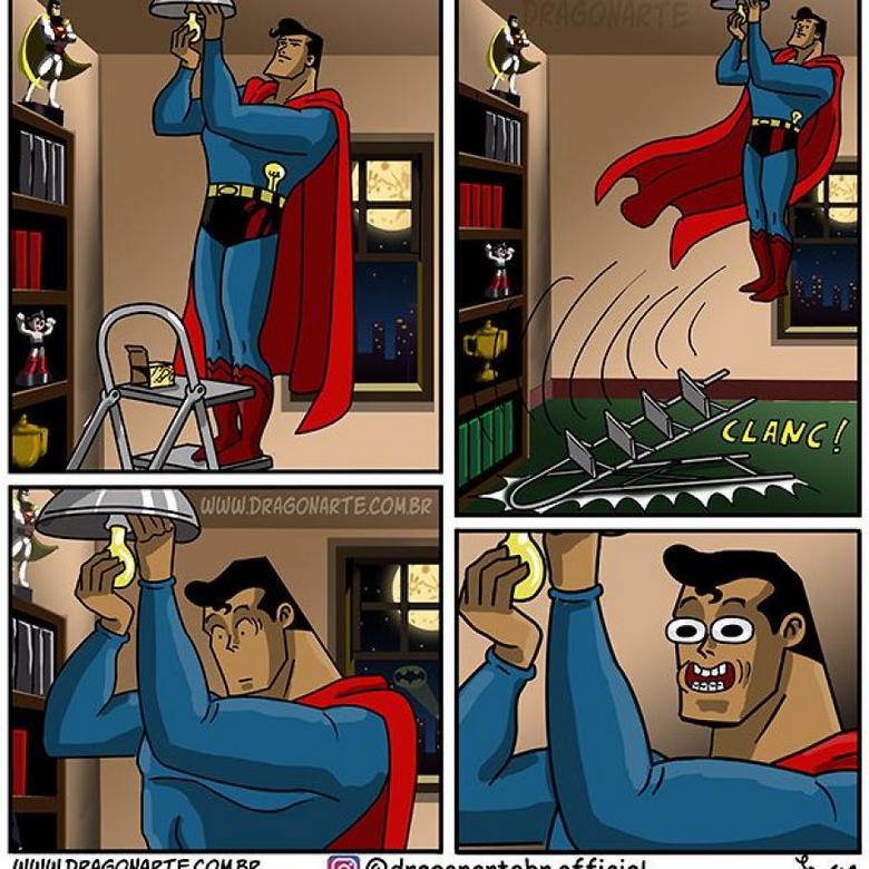 [Insolite] Mais que font les Super-Héros quand ils ne sauvent pas le monde (56)