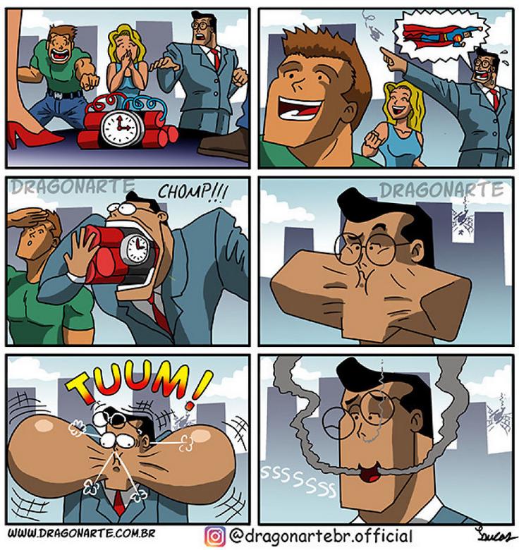 [Insolite] Mais que font les Super-Héros quand ils ne sauvent pas le monde (59)