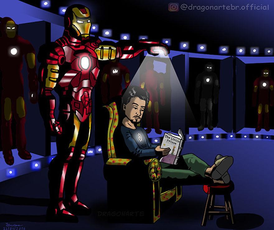 [Insolite] Mais que font les Super-Héros quand ils ne sauvent pas le monde (61)