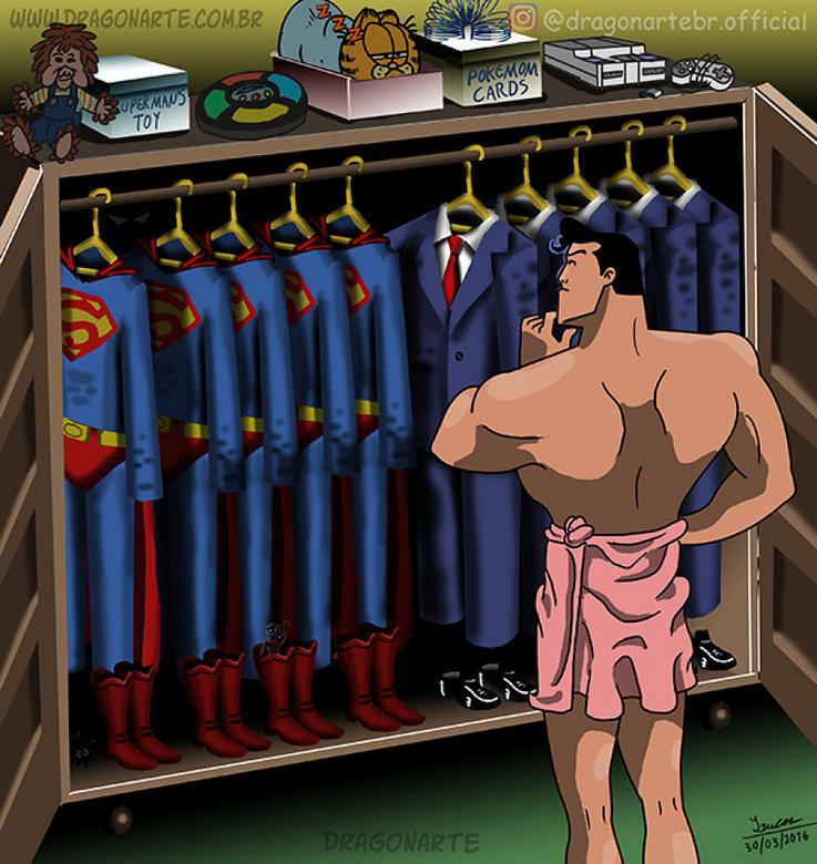 [Insolite] Mais que font les Super-Héros quand ils ne sauvent pas le monde (62)