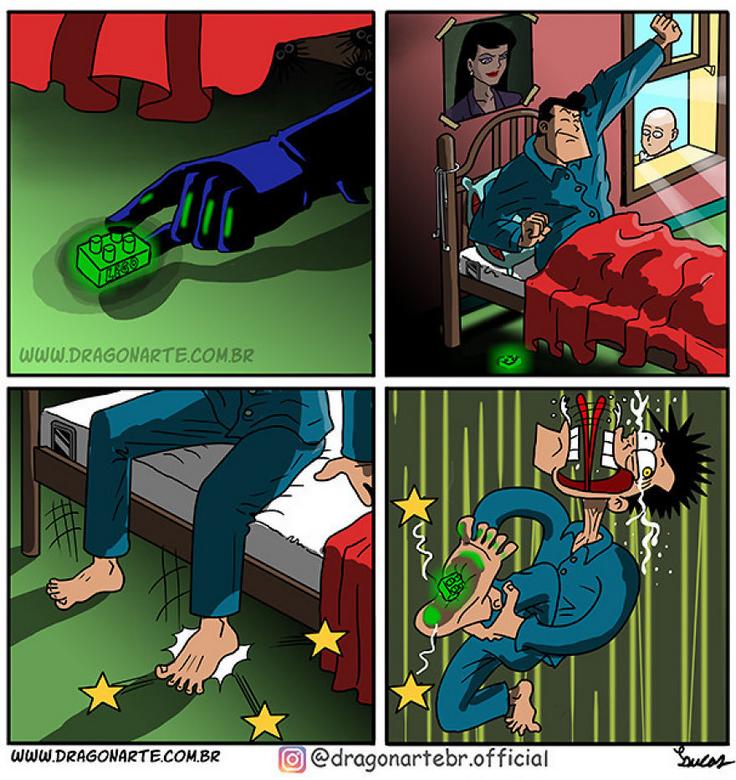 [Insolite] Mais que font les Super-Héros quand ils ne sauvent pas le monde (66)