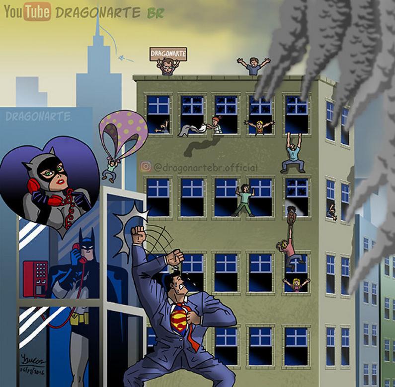 [Insolite] Mais que font les Super-Héros quand ils ne sauvent pas le monde (67)