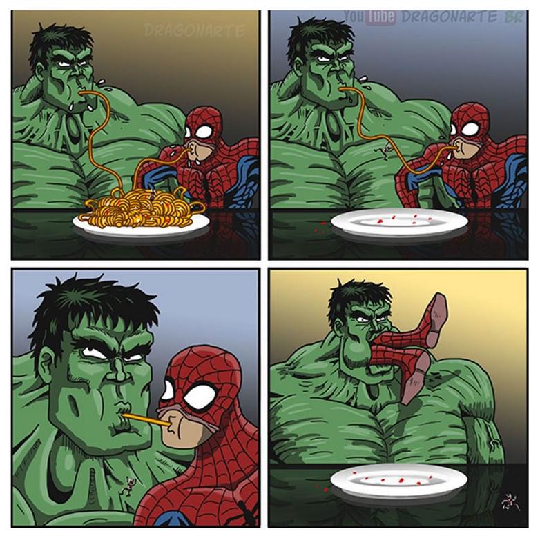 [Insolite] Mais que font les Super-Héros quand ils ne sauvent pas le monde (73)