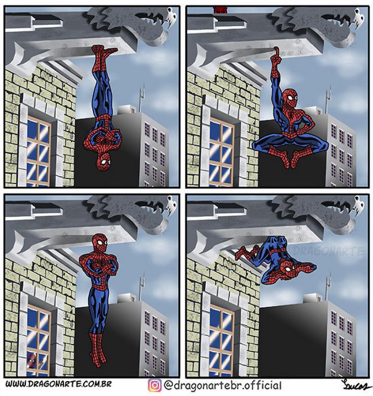 [Insolite] Mais que font les Super-Héros quand ils ne sauvent pas le monde (76)