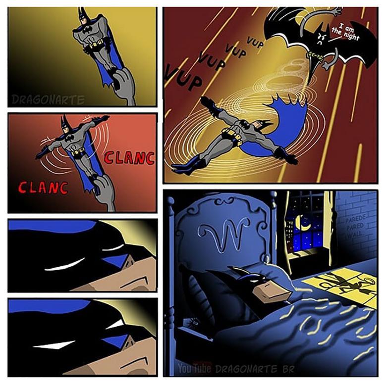 [Insolite] Mais que font les Super-Héros quand ils ne sauvent pas le monde (79)