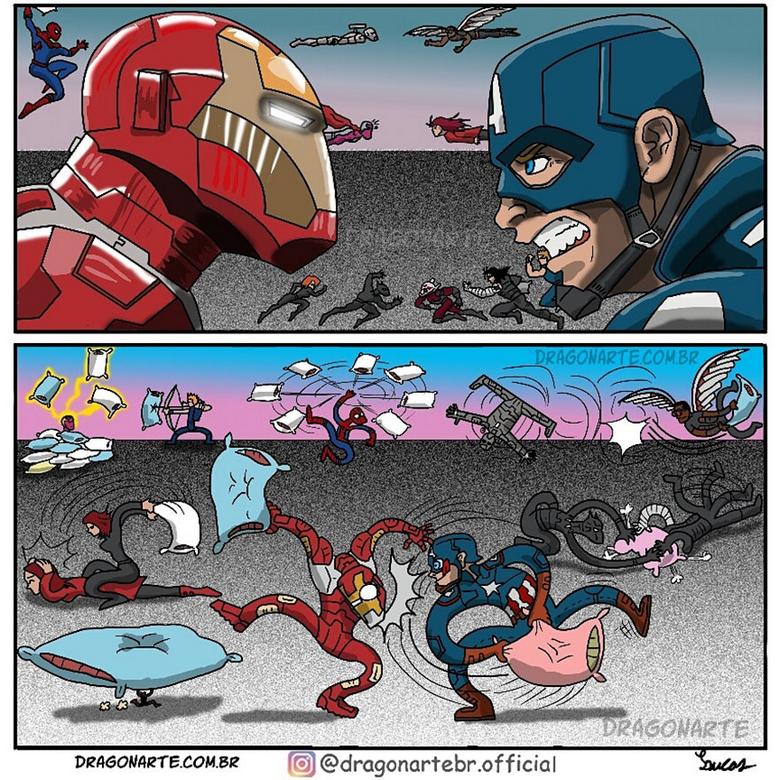 [Insolite] Mais que font les Super-Héros quand ils ne sauvent pas le monde (86)