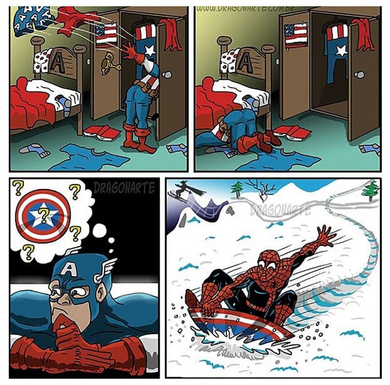 [Insolite] Mais que font les Super-Héros quand ils ne sauvent pas le monde (88)