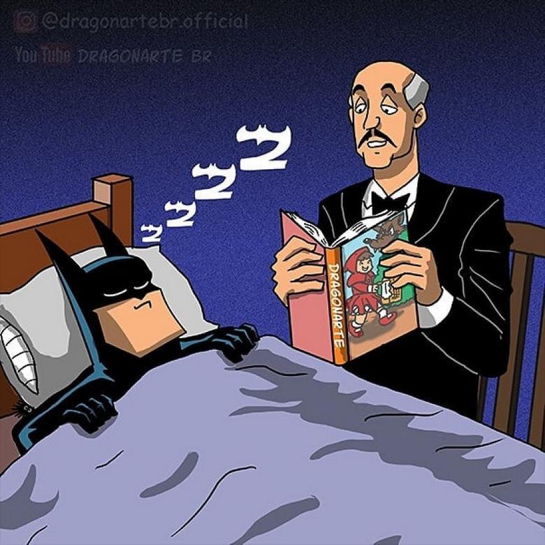 [Insolite] Mais que font les Super-Héros quand ils ne sauvent pas le monde (90)