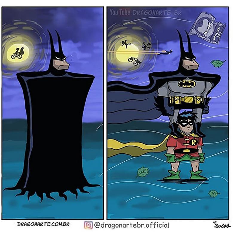 [Insolite] Mais que font les Super-Héros quand ils ne sauvent pas le monde (98)
