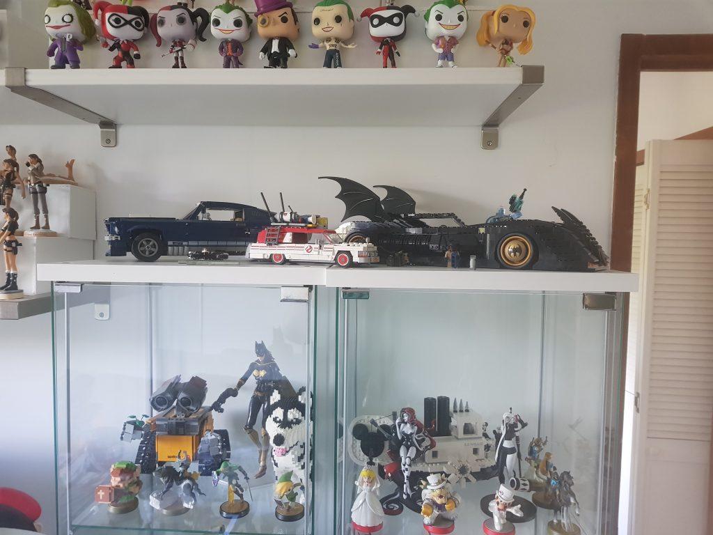 Quelques véhicules Lego