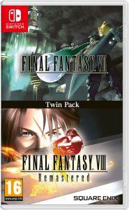 FFVII - VIII packshot 01