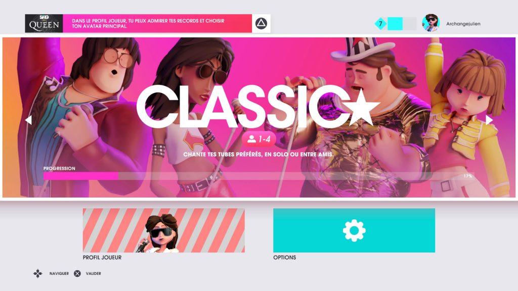 Le mode classic