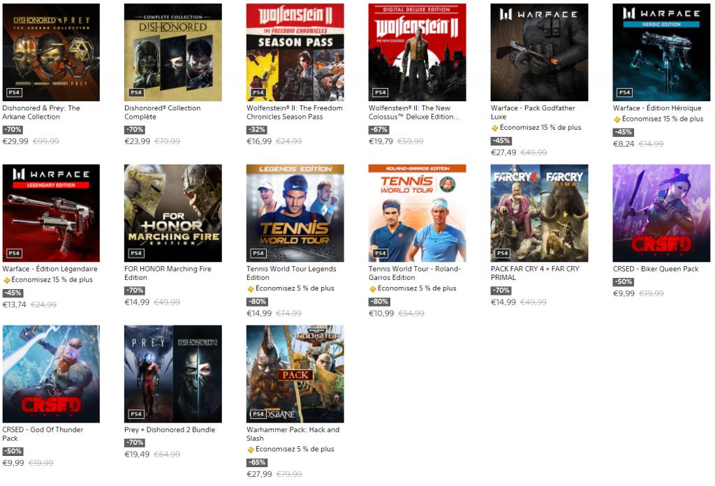 SOLDES du PlayStation Store (1)