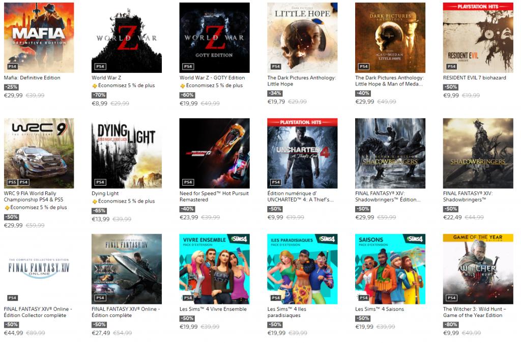 SOLDES du PlayStation Store (5)