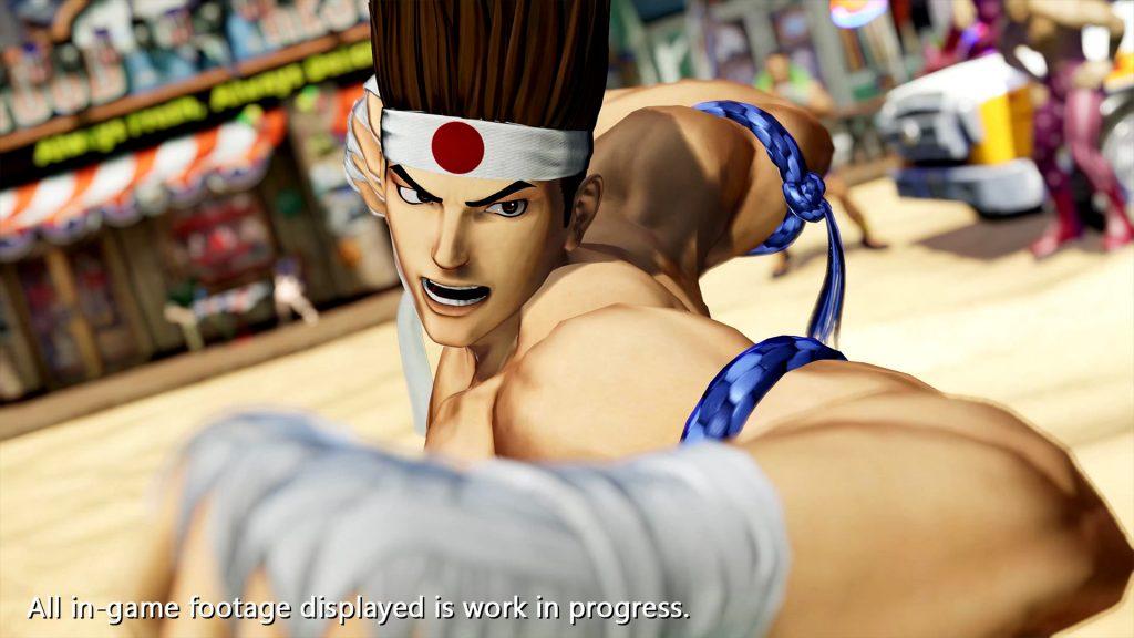 The King of Fighters XV Joe Higashi Screen 1