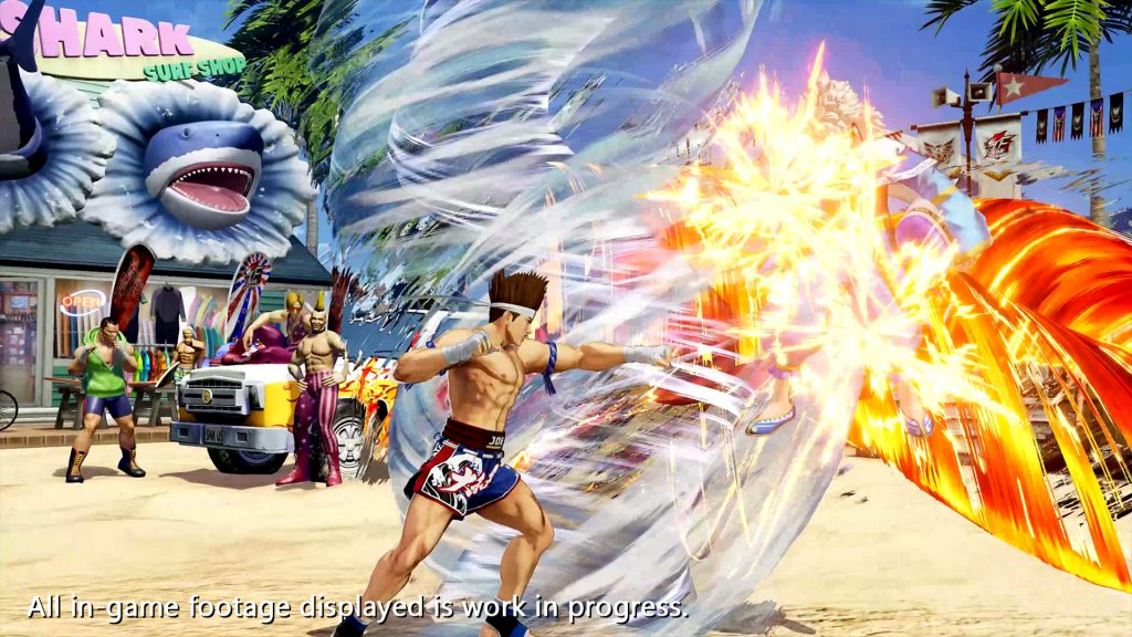 The King of Fighters XV Joe Higashi Screen 4
