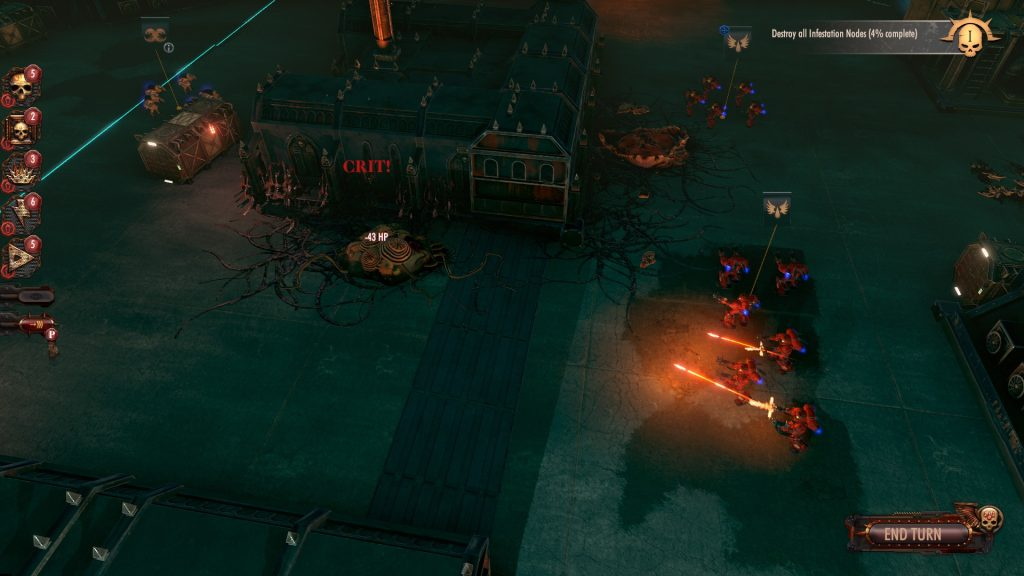 Warhammer 40000 Battlesector Screen 9